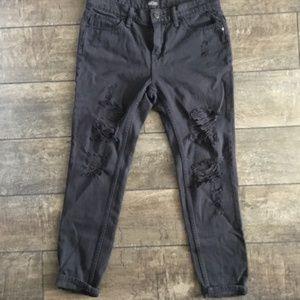BDG gray slim boyfriend jeans